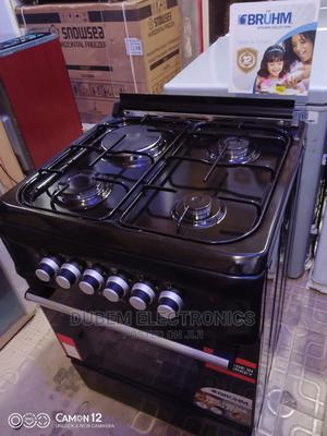 BRUHM Gas Cooker 3+1 | Kitchen Appliances for sale in Lagos State, Ojo