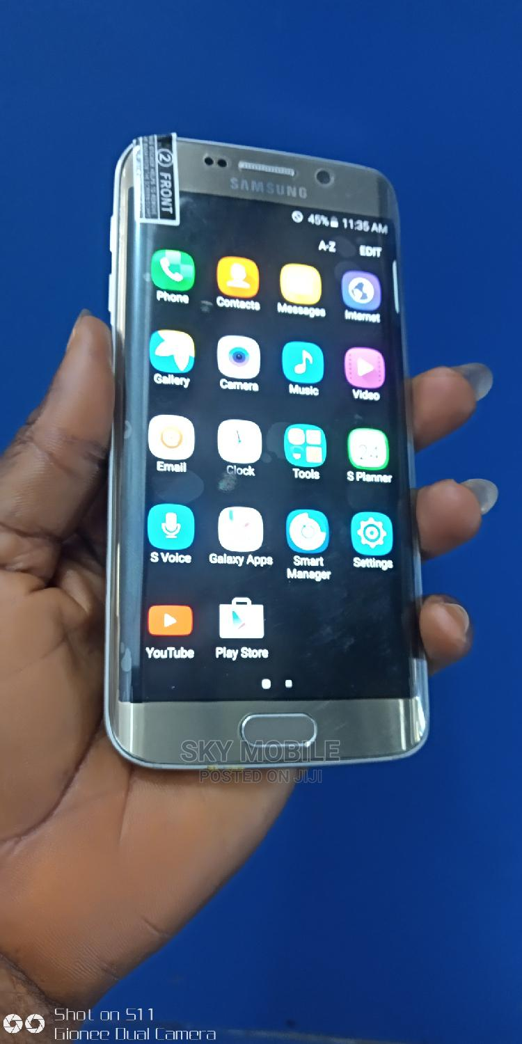 Samsung Galaxy S6 edge 32 GB Gray | Mobile Phones for sale in Ikeja, Lagos State, Nigeria