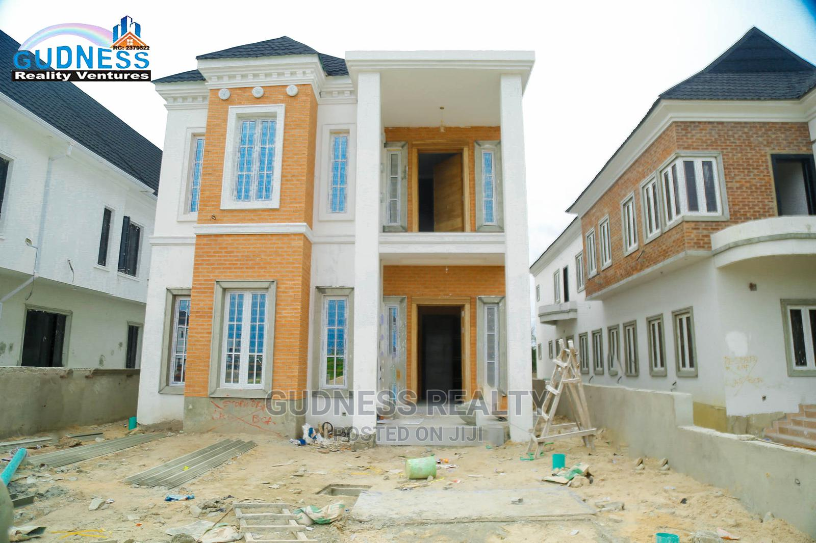 Newly Well Built 5 Bedroom Detached Duplex For Sale