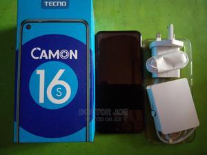 Tecno Camon 16S 128 GB Black | Mobile Phones for sale in Lagos State, Ifako-Ijaiye