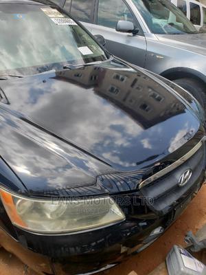 Hyundai Sonata 2008 2.4 Automatic Black | Cars for sale in Lagos State, Ojodu