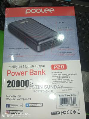 20,000mah Poolee Power Bank   Accessories for Mobile Phones & Tablets for sale in Rivers State, Port-Harcourt