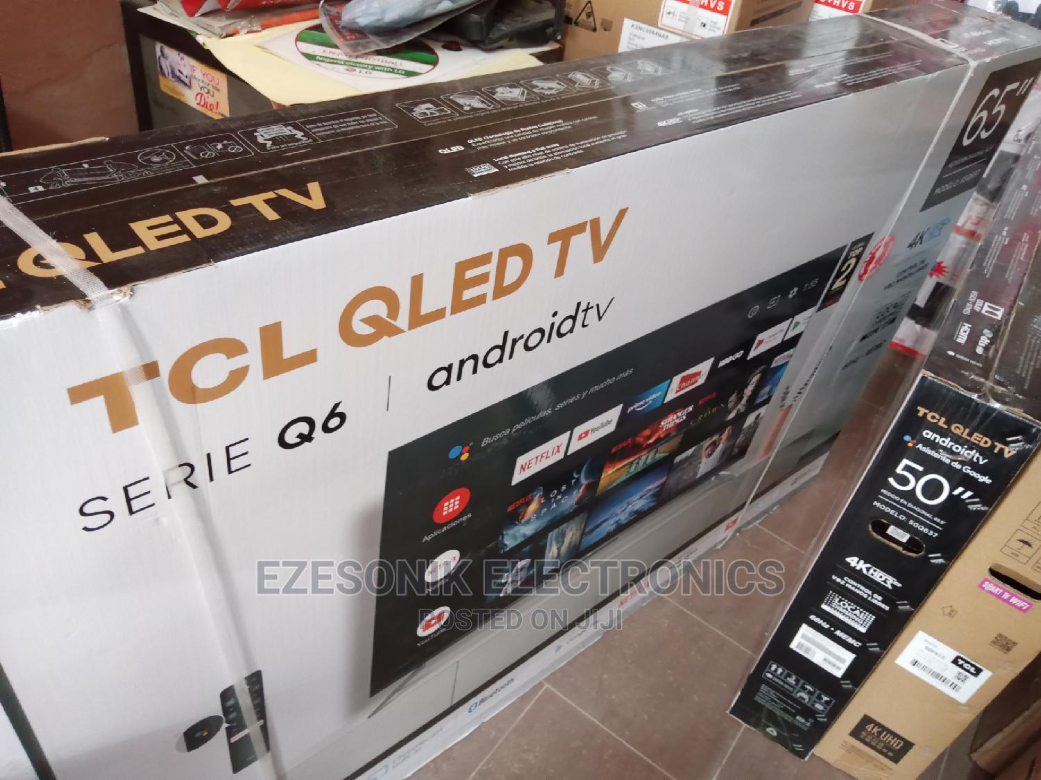 TCL 65 Inches QLED Android Tv