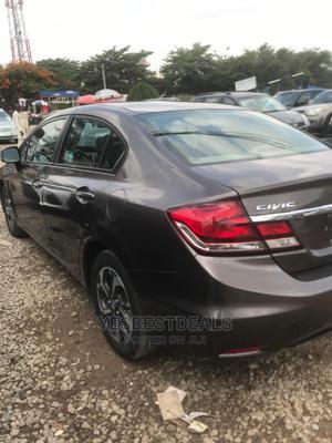 Honda Civic 2014 Gray   Cars for sale in Abuja (FCT) State, Garki 2