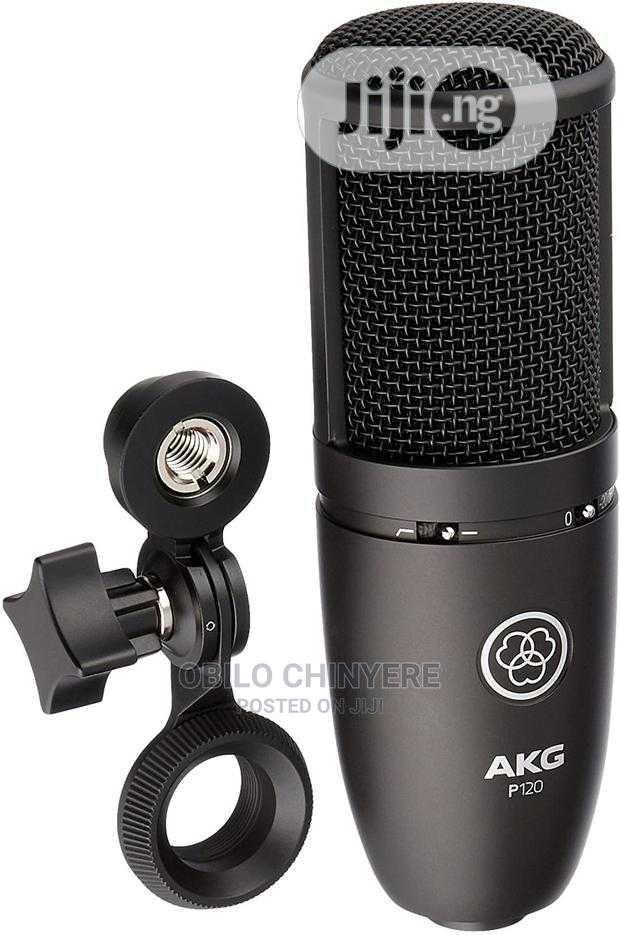 AKG P120 Studio Microphone | Audio & Music Equipment for sale in Mushin, Lagos State, Nigeria