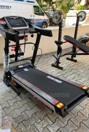 2.5hp German Machine Treadmill With Massager, Incline   Sports Equipment for sale in Lagos State, Ikoyi