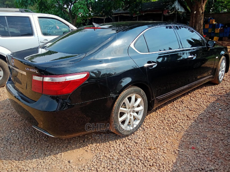 Lexus LS 2008 460 Black