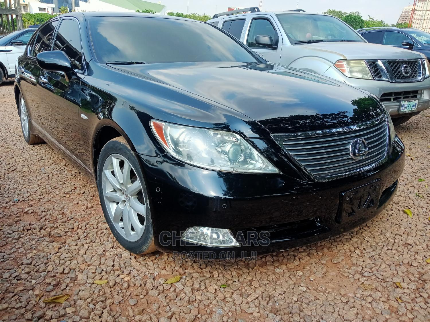 Lexus LS 2008 460 Black | Cars for sale in Central Business District, Abuja (FCT) State, Nigeria