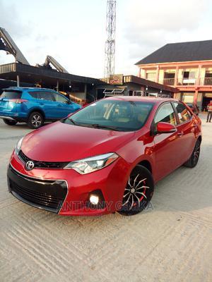 Toyota Corolla 2016 Red | Cars for sale in Lagos State, Amuwo-Odofin