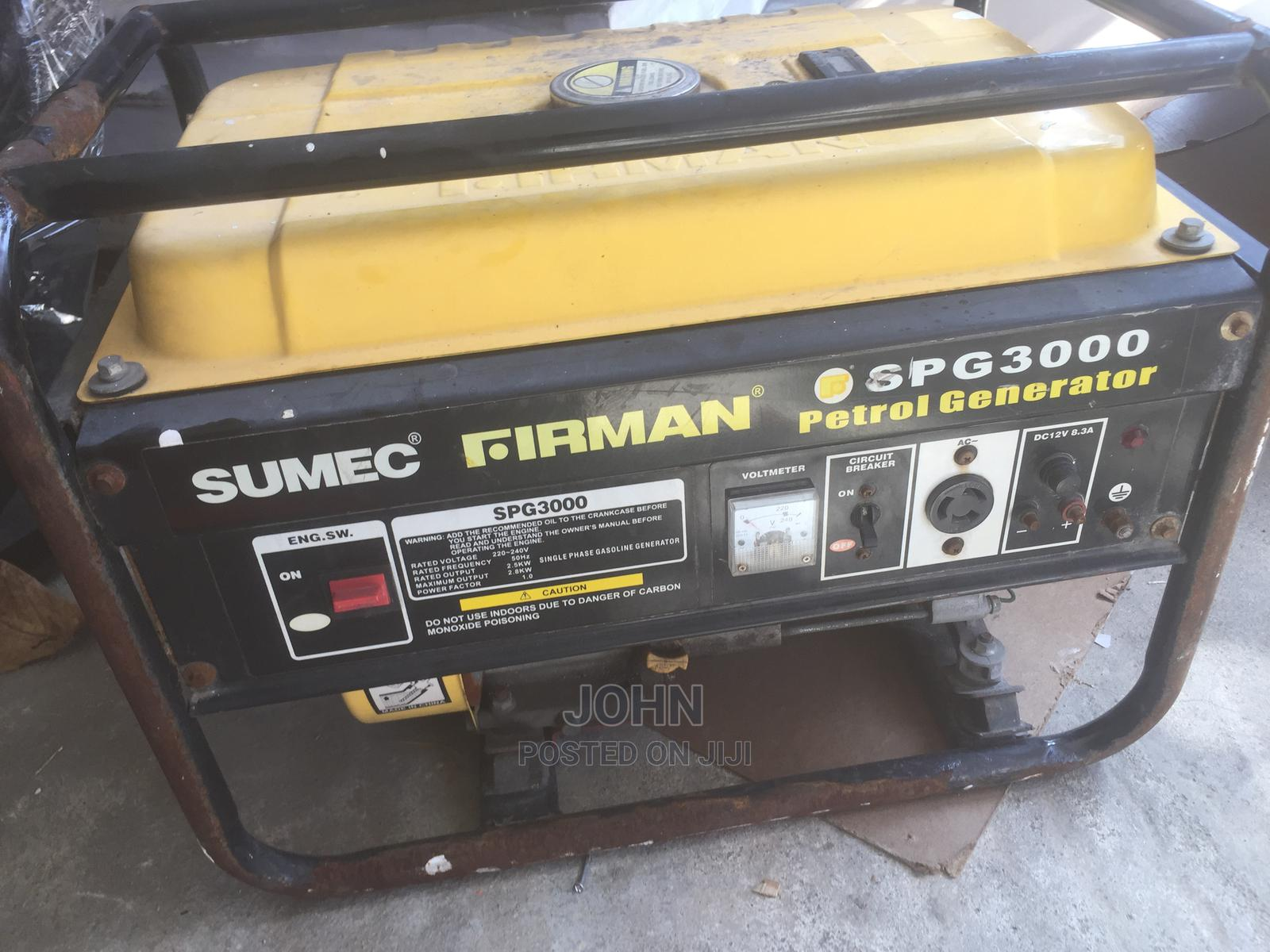 Firman Generator for Quick Sale