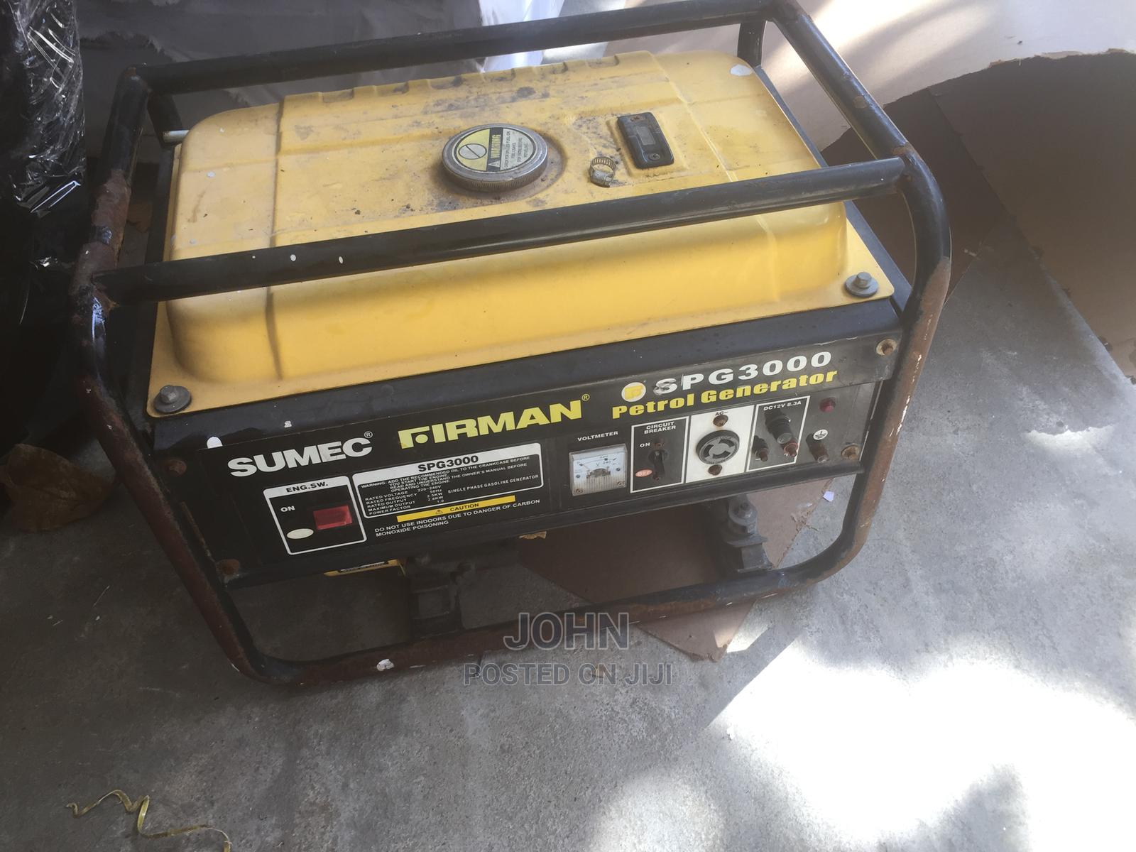 Firman Generator for Quick Sale   Home Appliances for sale in Lekki, Lagos State, Nigeria