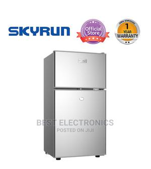 Skyrun Double Door Top Mount Fridge BCD-85HC Sliver | Kitchen Appliances for sale in Abuja (FCT) State, Central Business Dis