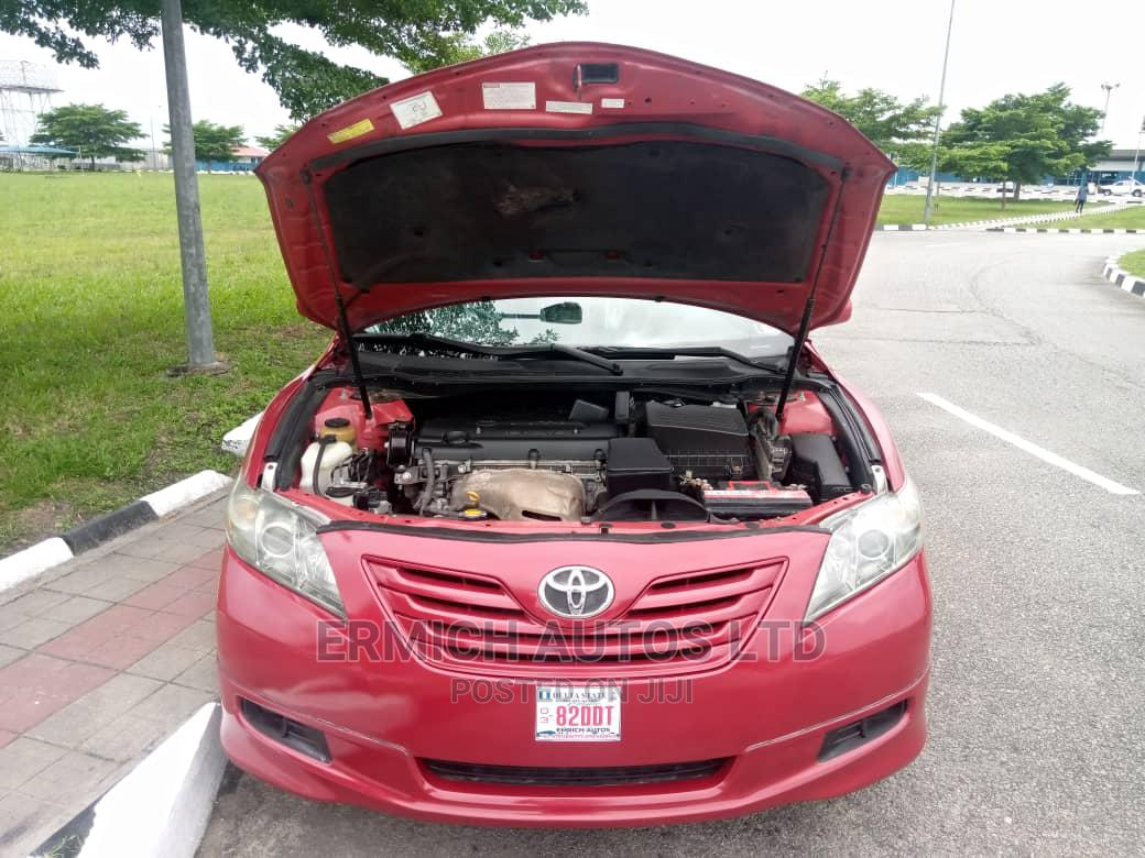 Toyota Camry 2007 Red | Cars for sale in Warri, Delta State, Nigeria