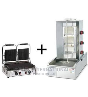 Shawarma Machine 3burner + Contact Grill Toaster Double | Restaurant & Catering Equipment for sale in Lagos State, Ojo