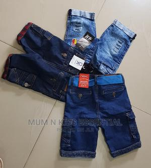 Trendy Jeans Shorts | Children's Clothing for sale in Lagos State, Isolo