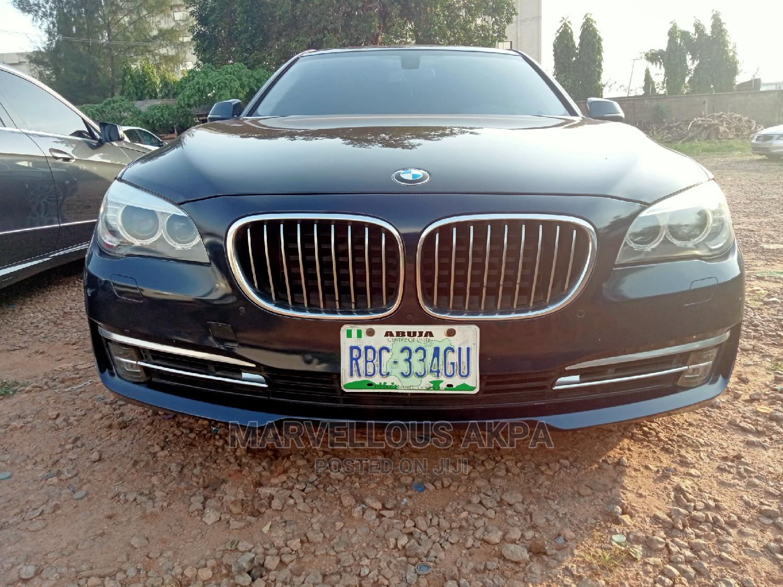BMW 7 Series 2014 Blue