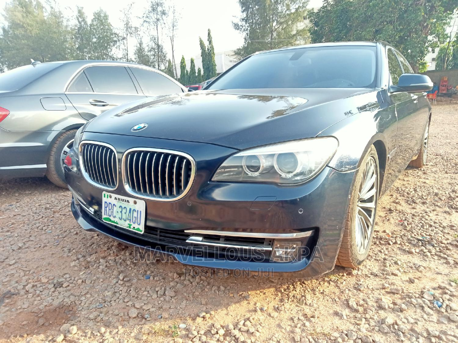 BMW 7 Series 2014 Blue | Cars for sale in Central Business Dis, Abuja (FCT) State, Nigeria