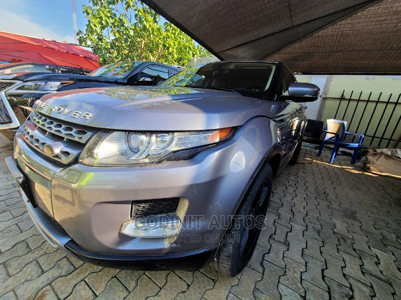 Archive: Land Rover Range Rover Evoque 2013 Pure AWD 5-Door Gray