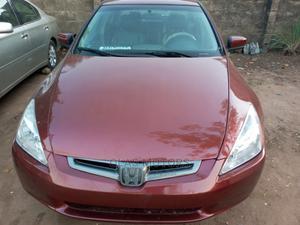 Honda Accord 2004 Red | Cars for sale in Lagos State, Ifako-Ijaiye