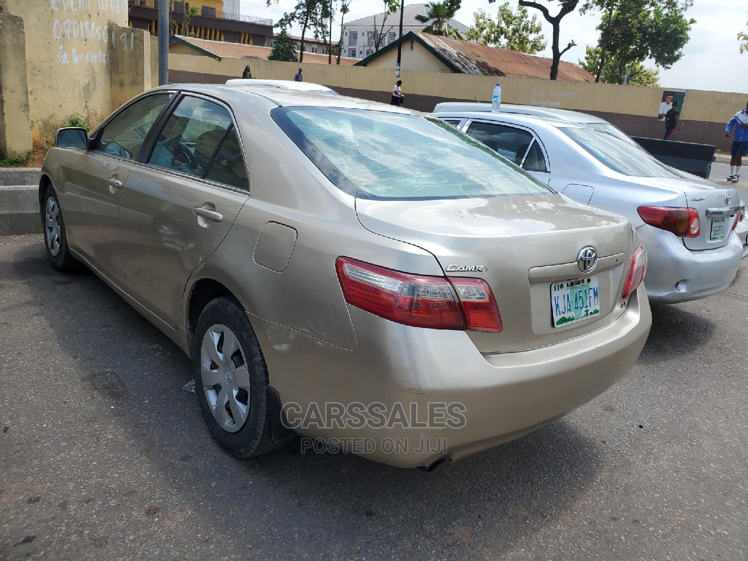 Toyota Camry 2008 Gold | Cars for sale in Agege, Lagos State, Nigeria