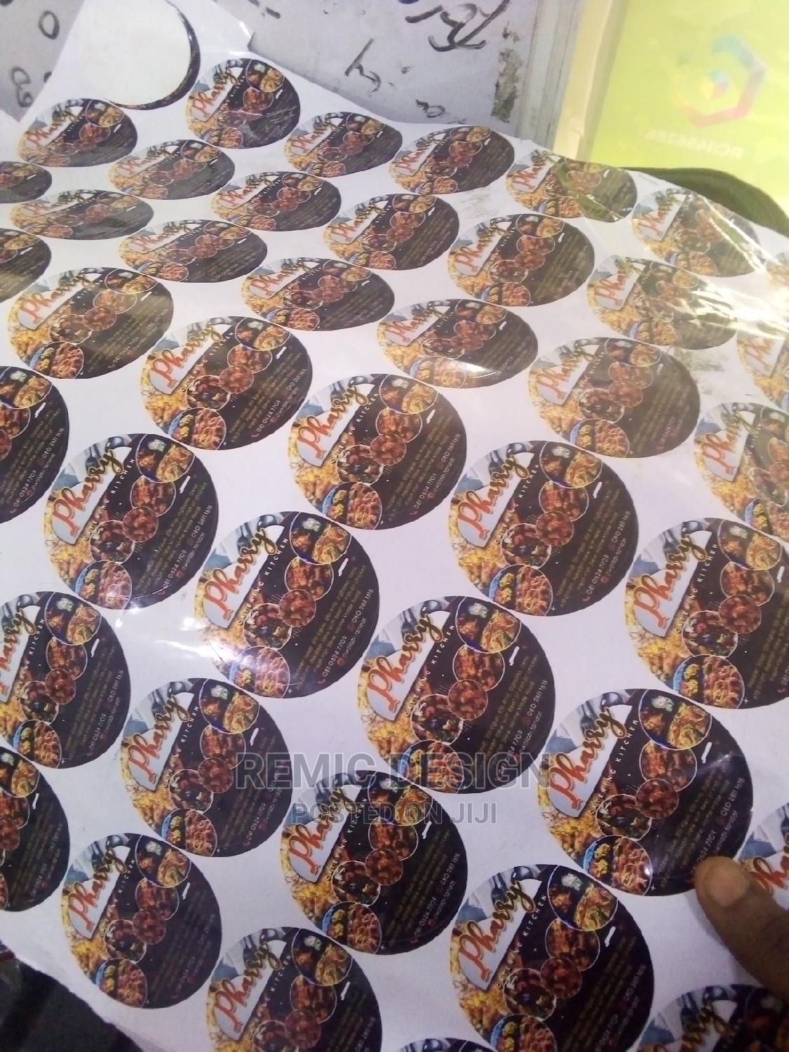 SAV/ Stickers and Flex Banner Design and Print   Computer & IT Services for sale in Alimosho, Lagos State, Nigeria