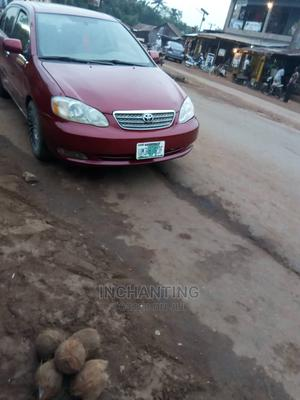 Toyota Corolla 2003 Red | Cars for sale in Enugu State, Enugu