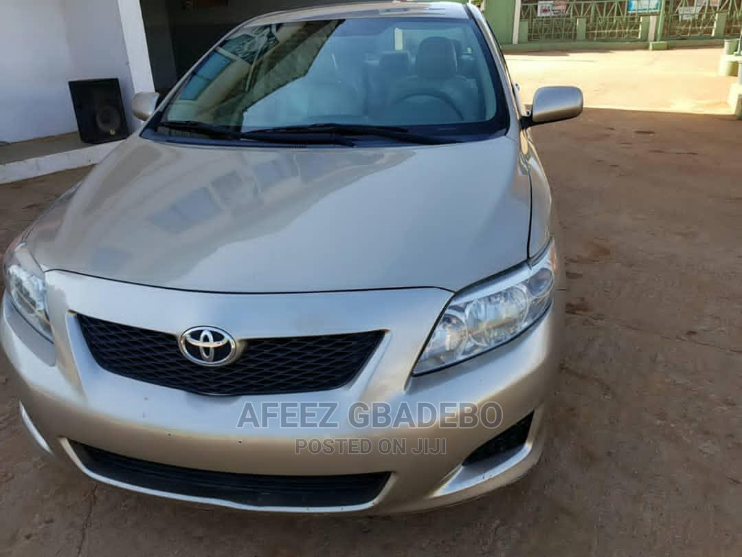 Toyota Corolla 2009 1.8 Advanced Gold | Cars for sale in Ojodu, Lagos State, Nigeria