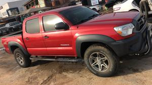 Toyota Tacoma 2012 Double Cab V6 Automatic Red   Cars for sale in Lagos State, Isolo