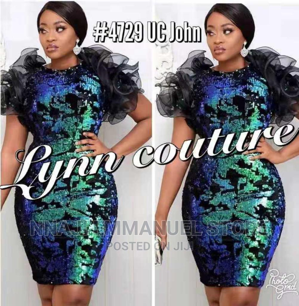 Fitted Corporate Gown   Clothing for sale in Oshodi, Lagos State, Nigeria