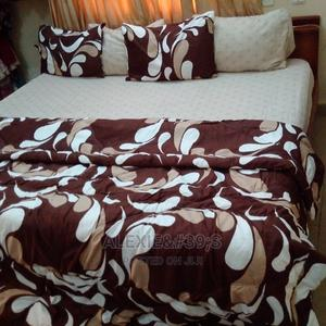 Brown Duvet, Bedsheet and 4 Pillow Covers   Home Accessories for sale in Abuja (FCT) State, Kubwa