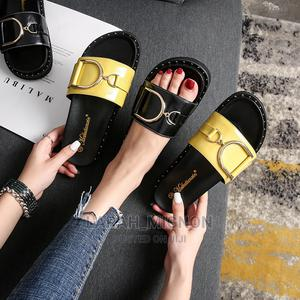 Leather Palm 38 to 41 Available in Yellow Black Very Comfy   Shoes for sale in Lagos State, Alimosho