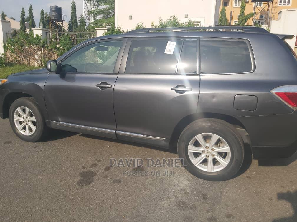 Toyota Highlander 2012 Limited Gray | Cars for sale in Gwarinpa, Abuja (FCT) State, Nigeria