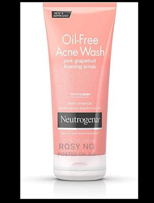 Neutrogena Oil-Free Acne Face Wash Pink | Skin Care for sale in Lagos State, Apapa