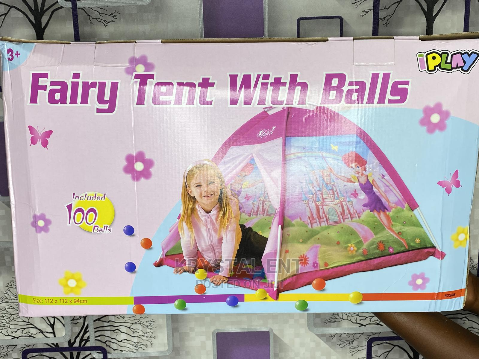 Archive: Play Tent With 100 Balls