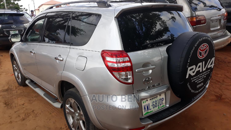 Toyota RAV4 2010 2.5 4x4 Silver | Cars for sale in Amuwo-Odofin, Lagos State, Nigeria