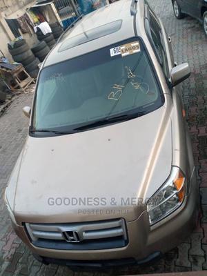 Honda Pilot 2006 EX-L 4x4 (3.5L 6cyl 5A) Gold | Cars for sale in Lagos State, Ikeja