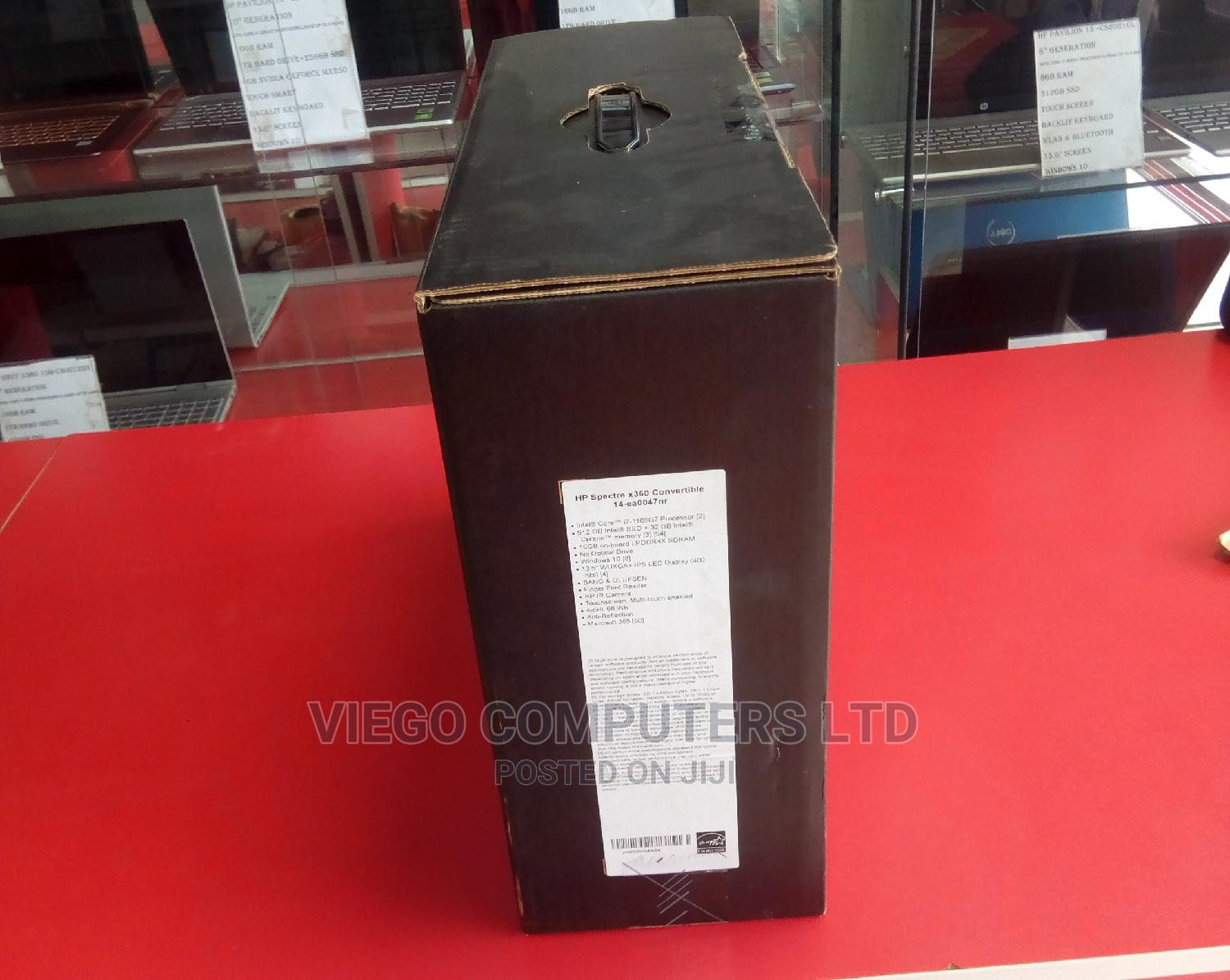 New Laptop HP Spectre X360 13 16GB Intel Core I7 SSD 512GB   Laptops & Computers for sale in Central Business Dis, Abuja (FCT) State, Nigeria