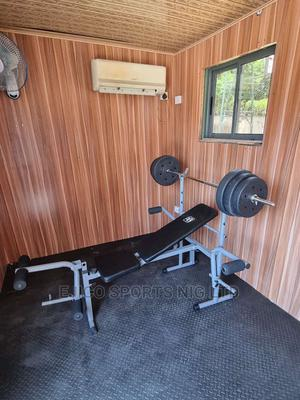 Brand New Weight Bench With 50kh Dumbbell | Sports Equipment for sale in Rivers State, Port-Harcourt