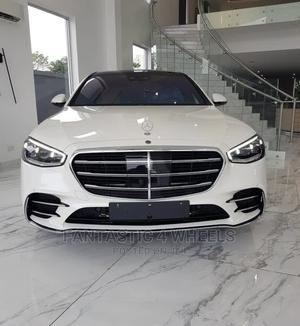 New Mercedes-Benz S Class 2021 White   Cars for sale in Lagos State, Victoria Island