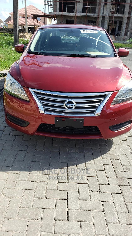 Nissan Sentra 2015 Red
