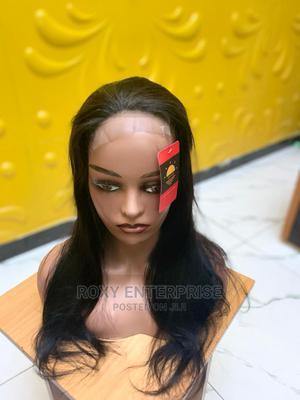 "18"" Wavy Human Hair Wig (100% Human Hair) | Hair Beauty for sale in Lagos State, Lekki"