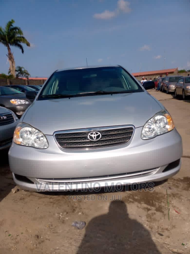 Archive: Toyota Corolla 2007 LE Silver