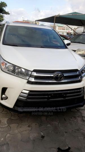 Toyota Highlander 2017 White | Cars for sale in Lagos State, Ajah