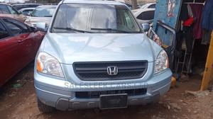 Honda Pilot 2003 EX 4x4 (3.5L 6cyl 5A) Blue | Cars for sale in Lagos State, Isolo