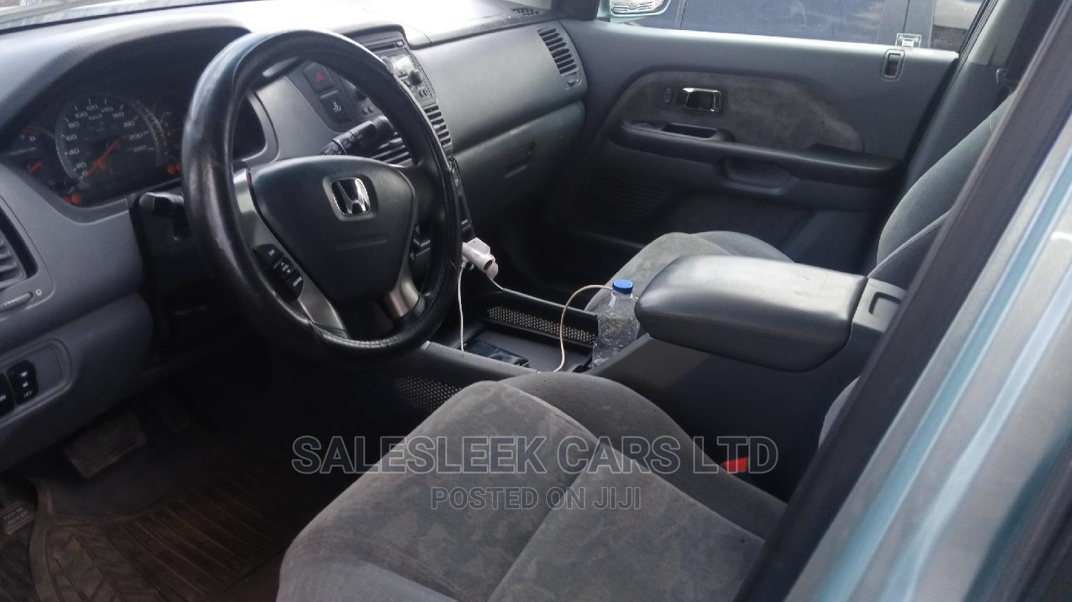 Honda Pilot 2003 EX 4x4 (3.5L 6cyl 5A) Blue   Cars for sale in Isolo, Lagos State, Nigeria