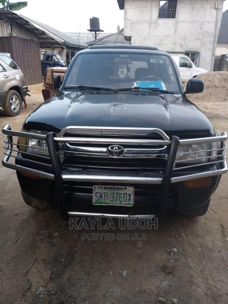 Toyota 4-Runner 2003 4.7 Black   Cars for sale in Oyigbo, Rivers State, Nigeria