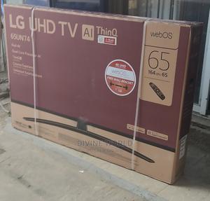 "LG Smart Satellite TV Uhd 4k 65""Inch(Webos) Ai Thinq 2yrs   TV & DVD Equipment for sale in Lagos State, Apapa"