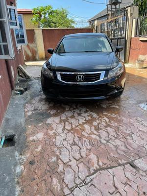 Honda Accord 2008 3.5 EX Automatic Black | Cars for sale in Lagos State, Agboyi/Ketu