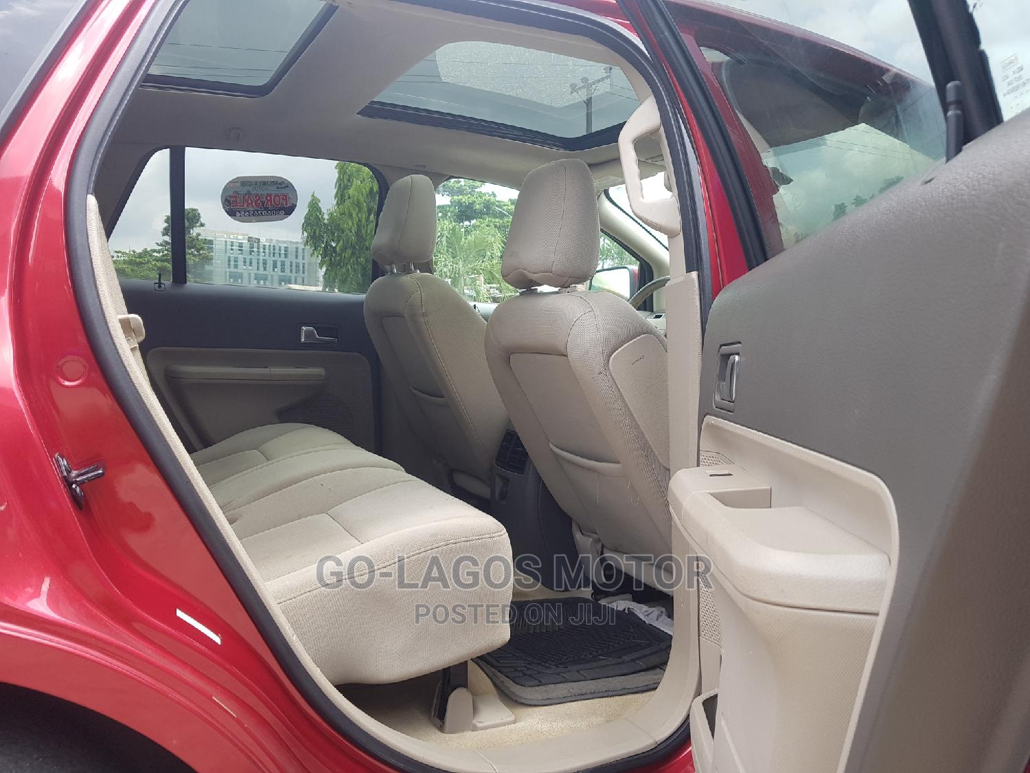 Ford Edge 2008 Red | Cars for sale in Ikeja, Lagos State, Nigeria