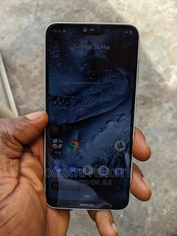Nokia 6.1 Plus (X6) 64 GB White   Mobile Phones for sale in Ikeja, Lagos State, Nigeria